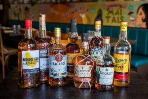 varietà di rum